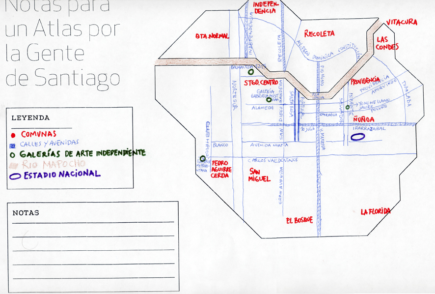 Santiago Chile Notes For A People S Atlas